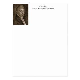 Anton Eberl c1800 Postcard