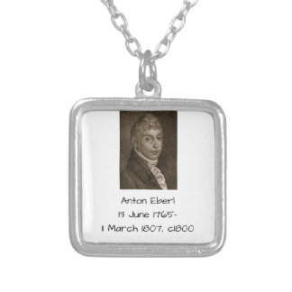 Anton Eberl c1800 Silver Plated Necklace