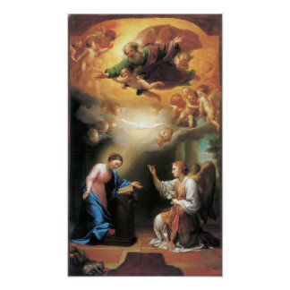 Anton Raphael Mengs - Annunciation Poster