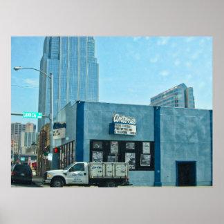 Antones Austin Texas Poster