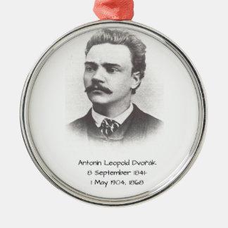 Antonin Leopold Dvorak 1868 Metal Ornament
