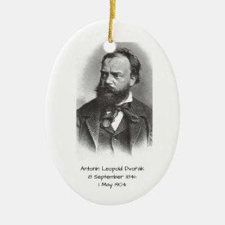 Antonin Leopold Dvorak Ceramic Ornament
