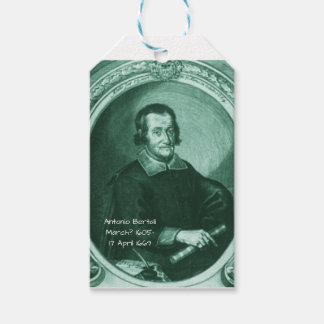 Antonio bertali gift tags