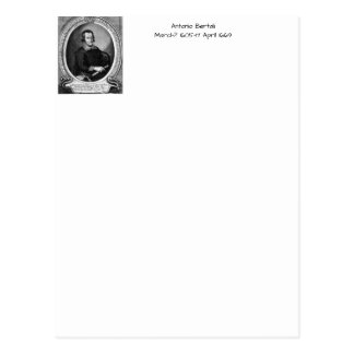 Antonio bertali postcard