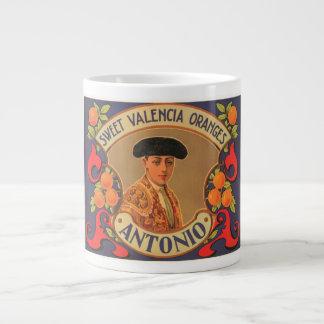 Antonio Brand Sweet Valencia Oranges Vintage Crate Jumbo Mug