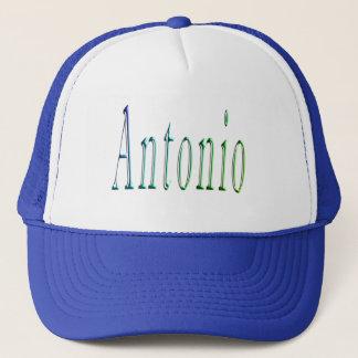 Antonio Name Logo On Trucker Hat