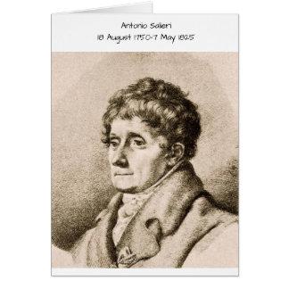 Antonio Salieri Card
