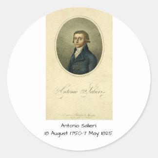 Antonio Salieri Classic Round Sticker