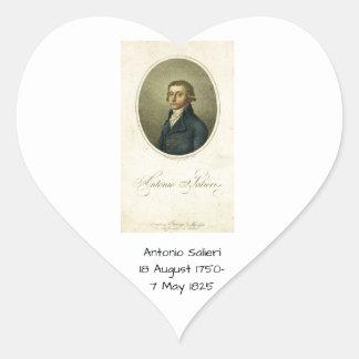 Antonio Salieri Heart Sticker