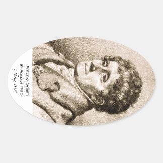 Antonio Salieri Oval Sticker