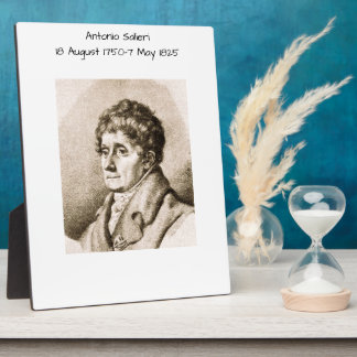 Antonio Salieri Plaque
