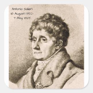 Antonio Salieri Square Sticker