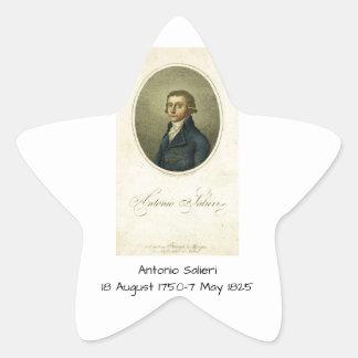 Antonio Salieri Star Sticker
