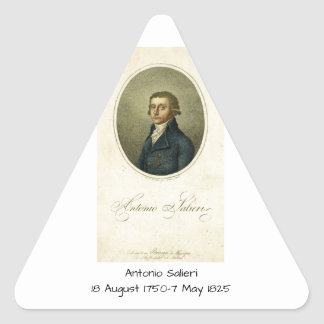 Antonio Salieri Triangle Sticker