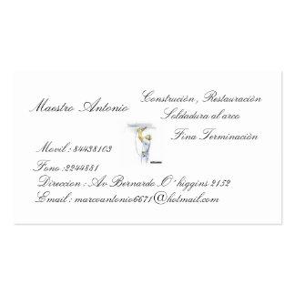 Antonio teacher, Weld… Business Cards