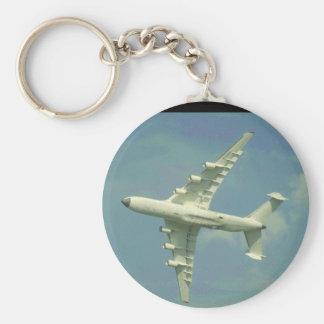 Antonov AN-225 Mriya Cossack_Aviation Photography Basic Round Button Key Ring