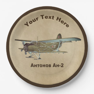 Antonov An-2 Paper Plate
