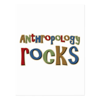 Antrhopology Rocks Postcard