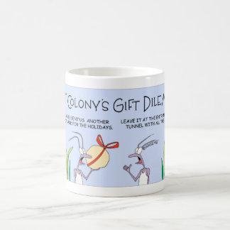 Ant's gift delemma coffee mug