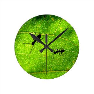 Ants Green Acre Wallclock