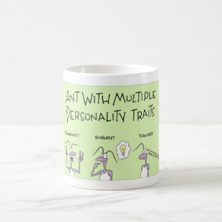 Ants have different personalities coffee mug