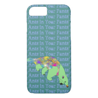 Ants in Your Pants Green Anteater Animal Art iPhone 8/7 Case