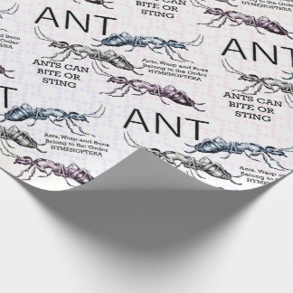 Ants Insects Bugs Wrapping Paper