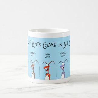 Ants of all colors coffee mug