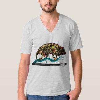 Antsingly Leaf Chameleon by Daniel Anguilu T-Shirt