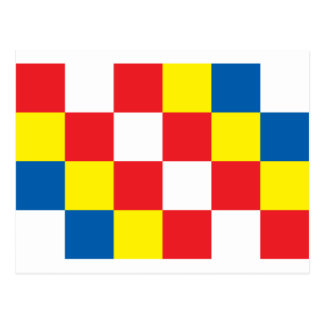 Antwerp Flag Postcard