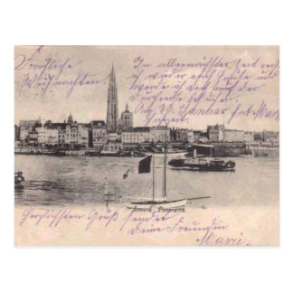 Antwerp, replica card c. 1900 postcard