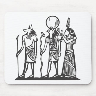 Anubis and Horus Mouse Pad
