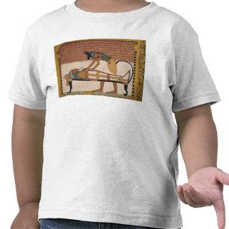 Anubis attends Sennedjem's Mummy T Shirts