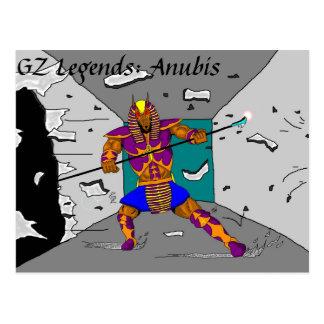 "Anubis ""breakthrough"" postcard"