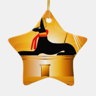 Anubis Christmas Ornaments