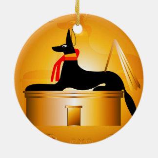 Anubis Christmas Tree Ornaments