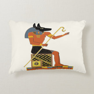 Anubis Egyptian Folk Art Decorative Cushion