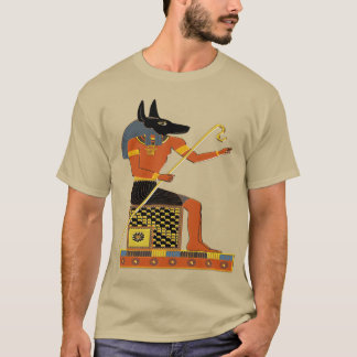 Anubis Egyptian Folk Art T-Shirt