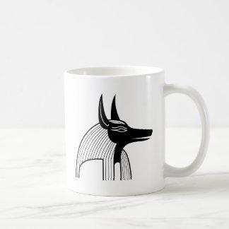 Anubis Egyptian God. Mugs