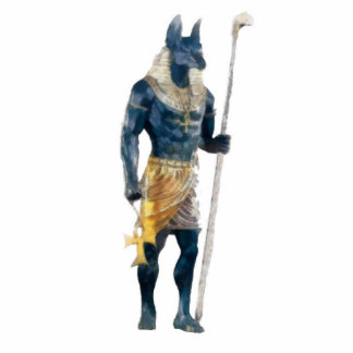 Anubis Egyptian God Photo Sculpture Decoration