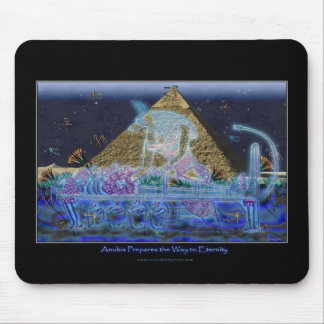 Anubis Fantasy Egyptian Mouse Pad