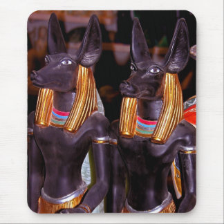 Anubis in Alabaster Mouse Pad