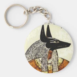 Anubis Keychain