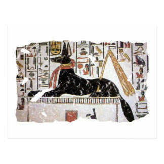 Anubis Postcard