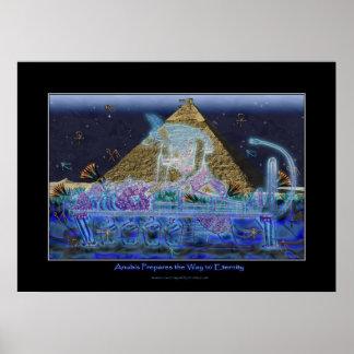 """""""Anubis Prepares the Way"""" Art Poster"""