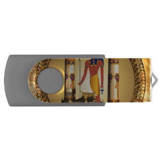Anubis the egyptian god swivel USB 2.0 flash drive