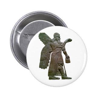 Anunnuki Ancient Sumerian Alien Extraterrestrial 6 Cm Round Badge
