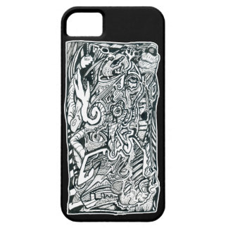 Anxiety Attack by Brian Benson iPhone 5 Cases