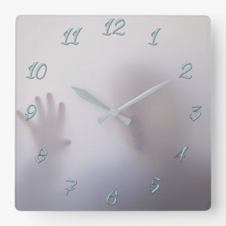 Anxiety Square Wall Clock