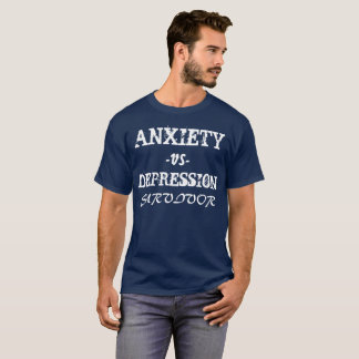 Anxiety vs Depression T-Shirt